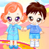 Play Dressup Twin Babys Online
