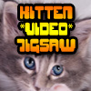 Play Kitten VIDEO Jigsaw Online